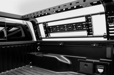 ZROADZ                                             - 2016-2021 Toyota Tacoma Overland Access Rack With Side Gates with (4) 3 Inch ZROADZ LED Pod Lights - PN #Z839101 - Image 9