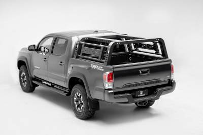 ZROADZ                                             - 2016-2021 Toyota Tacoma Overland Access Rack With Side Gates with (4) 3 Inch ZROADZ LED Pod Lights - PN #Z839101 - Image 15