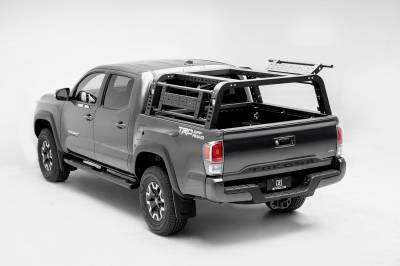 ZROADZ                                             - 2016-2021 Toyota Tacoma Overland Access Rack With Side Gates with (4) 3 Inch ZROADZ LED Pod Lights - PN #Z839101 - Image 17