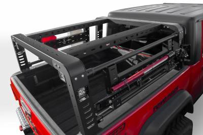 ZROADZ                                             - 2019-2021 Jeep Gladiator Access Overland Rack With Two Lifting Side Gates, For use on Factory Trail Rail Cargo Systems - PN #Z834111 - Image 8