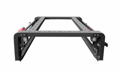 ZROADZ                                             - 2019-2021 Jeep Gladiator Access Overland Rack With Two Lifting Side Gates, For use on Factory Trail Rail Cargo Systems - PN #Z834111 - Image 7