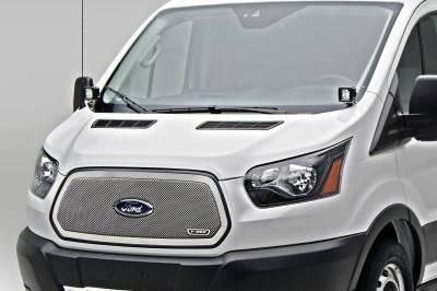 ZROADZ OFF ROAD PRODUCTS - 2015-2018 Ford Transit Hood Hinge LED Bracket to mount (2) 3 Inch LED Pod Lights - PN #Z365751 - Image 2