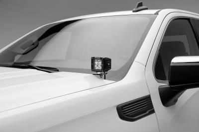 ZROADZ                                             - 2019-2021 GMC Sierra 1500 Hood Hinge LED Kit with (2) 3 Inch LED Pod Lights - PN# Z362281-KIT2 - Image 3