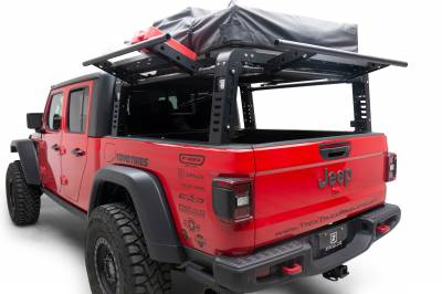 ZROADZ                                             - 2019-2021 Jeep Gladiator Access Overland Rack With Three Lifting Side Gates, For use on Factory Trail Rail Cargo Systems - PN #Z834211 - Image 2