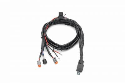 ZROADZ                                             - 2007-2013 Silverado, Sierra 1500 Hood Hinge LED Kit  Incl. (2) 3 Inch LED Pod Lights - PN #Z362051-KIT2 - Image 3