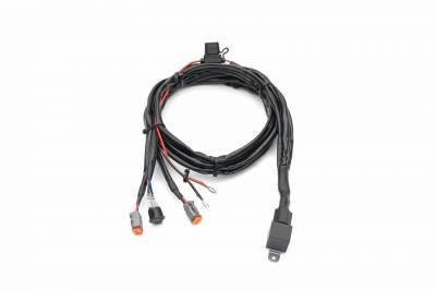 ZROADZ OFF ROAD PRODUCTS - 2015-2019 Silverado HD Hood Hinge LED Kit with (2) 3 Inch LED Pod Lights - PN #Z361221-KIT2 - Image 12