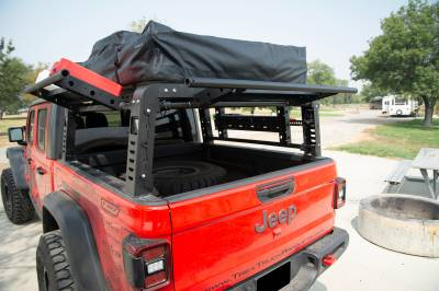 ZROADZ                                             - 2019-2021 Jeep Gladiator Access Overland Rack With Three Lifting Side Gates, Without Factory Trail Rail Cargo System - PN #Z834201 - Image 20