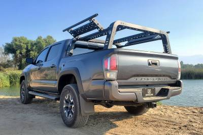 ZROADZ                                             - 2016-2021 Toyota Tacoma Overland Access Rack With Side Gates with (4) 3 Inch ZROADZ LED Pod Lights - PN #Z839101 - Image 20