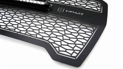 T-REX GRILLES - 2019-2021 GMC  Sierra 1500 ZROADZ Grille, Black, Mild Steel, 1 Pc, Insert - PN #Z312281 - Image 5