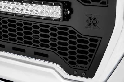 T-REX GRILLES - 2019-2021 GMC Sierra 1500 Stealth Laser Torch Grille, Black, Mild Steel, 1 Pc, Insert - PN #7312281-BR - Image 4