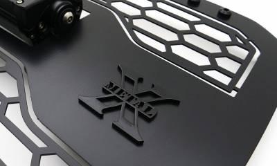 T-REX GRILLES - 2019-2021 GMC Sierra 1500 Stealth Laser Torch Grille, Black, Mild Steel, 1 Pc, Insert - PN #7312281-BR - Image 5