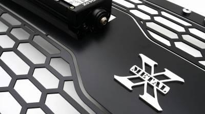 T-REX GRILLES - 2019-2021 GMC Sierra 1500 Laser Torch Grille, Black, Mild Steel, 1 Pc, Insert - PN #7312281 - Image 4