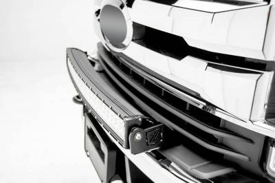 ZROADZ OFF ROAD PRODUCTS - 2017-2019 Ford Super Duty Front Bumper Top LED Bracket to mount (1) 30 Inch Curved LED Light Bar - PN #Z325472 - Image 2