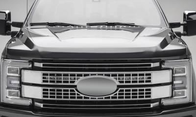 ZROADZ                                             - 2017-2019 Ford Super Duty Platinum OEM Grille LED Kit with (2) 10 Inch LED Single Row Slim Light Bar - PN #Z415371-KIT - Image 1