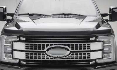 ZROADZ                                             - 2017-2019 Ford Super Duty Platinum OEM Grille LED Kit with (2) 10 Inch LED Single Row Slim Light Bars - PN #Z415671-KIT - Image 1