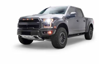 ZROADZ                                             - 2017-2021 Ford F-150 Raptor Front Bumper OEM Fog LED Bracket to mount (6) 3 Inch ZROADZ or similar style LED Pod Lights- PN #Z325672 - Image 19