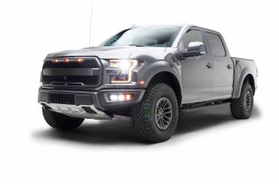 ZROADZ                                             - 2017-2021 Ford F-150 Raptor Front Bumper OEM Fog LED Bracket to mount (6) 3 Inch ZROADZ or similar style LED Pod Lights- PN #Z325672 - Image 14