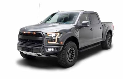ZROADZ                                             - 2017-2021 Ford F-150 Raptor Front Bumper OEM Fog LED Bracket to mount (6) 3 Inch ZROADZ or similar style LED Pod Lights- PN #Z325672 - Image 13