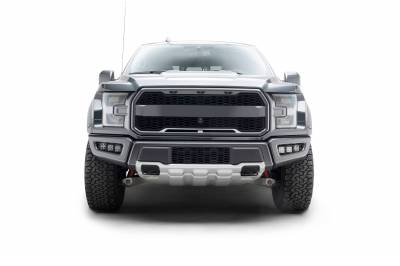 ZROADZ                                             - 2017-2021 Ford F-150 Raptor Front Bumper OEM Fog LED Bracket to mount (6) 3 Inch ZROADZ or similar style LED Pod Lights- PN #Z325672 - Image 10