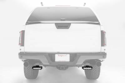ZROADZ                                             - Ford Rear Bumper LED Kit with (2) 6 Inch LED Straight Single Row Slim Light Bars - PN #Z385662-KIT - Image 6
