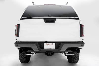 ZROADZ                                             - Ford Rear Bumper LED Kit with (2) 6 Inch LED Straight Single Row Slim Light Bars - PN #Z385662-KIT - Image 9
