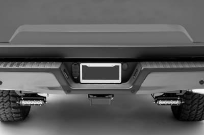 ZROADZ                                             - Ford Rear Bumper LED Kit with (2) 6 Inch LED Straight Single Row Slim Light Bars - PN #Z385662-KIT - Image 12
