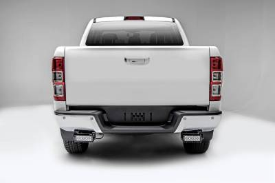 ZROADZ OFF ROAD PRODUCTS - 2015-2018 Ford Ranger T6 Rear Bumper LED Bracket to mount (2) 6 Inch Straight Light Bar - PN #Z385761 - Image 3