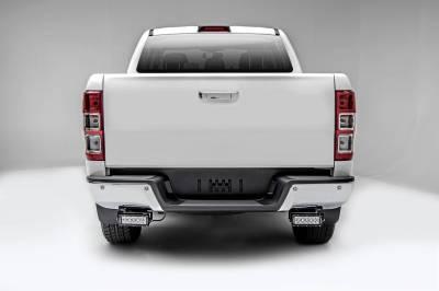 ZROADZ                                             - 2015-2018 Ford Ranger T6 Rear Bumper LED Kit with (2) 6 Inch LED Straight Double Row Light Bars - PN #Z385761-KIT - Image 2
