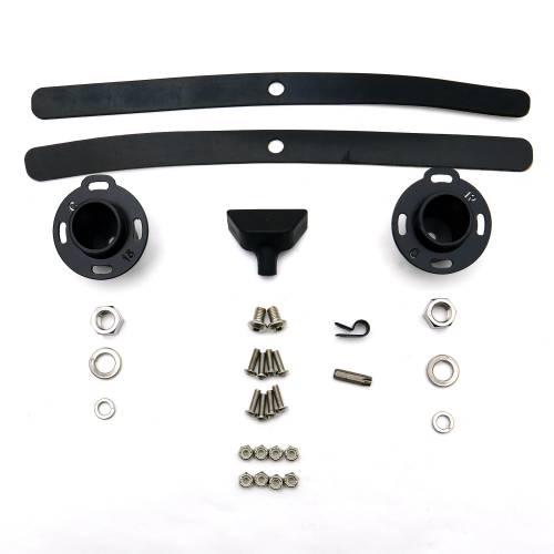 ZROADZ                                             - Ford F-150, Raptor Front Roof LED Bracket to mount 52 Inch Curved LED Light Bar - PN #Z335662 - Image 18