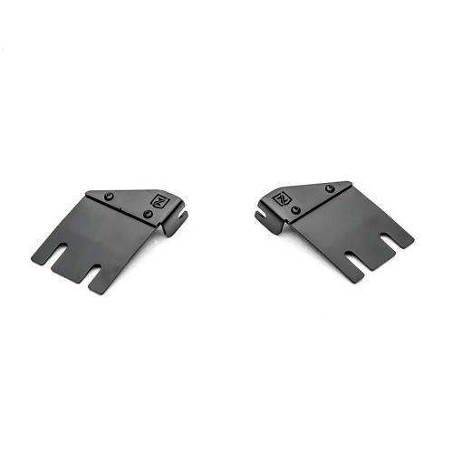 ZROADZ                                             - Jeep JL, Gladiator Hood Cowl LED Bracket to mount (1) 30 Inch Singe Row Slim LED Light Bar - PN #Z364931 - Image 5