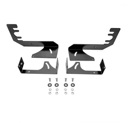 ZROADZ OFF ROAD PRODUCTS - 2019-2021 Ram 1500 Rear Bumper LED Bracket to mount (2) 6 Inch Straight Light Bar - PN #Z384721 - Image 4