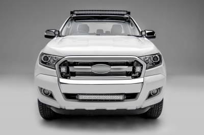 ZROADZ                                             - 2015-2018 Ford Ranger T6 OEM Grille LED Kit with (2) 3 Inch LED Pod Lights - PN #Z465761-KIT - Image 3