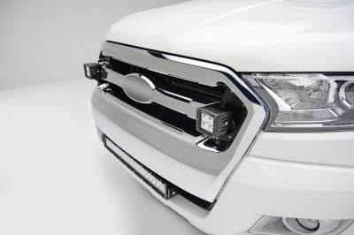 ZROADZ                                             - 2015-2018 Ford Ranger T6 OEM Grille LED Kit with (2) 3 Inch LED Pod Lights - PN #Z465761-KIT - Image 1