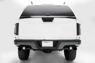 ZROADZ                                             - 2017-2021 Ford F-150 Raptor Rear Bumper LED Kit with (2) 3 Inch LED Pod Lights - PN #Z385651-KIT - Image 5