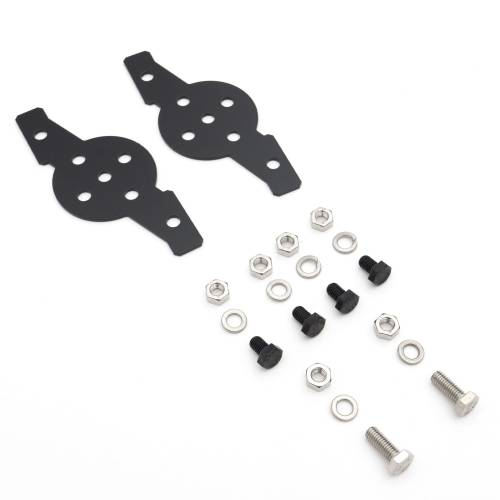 ZROADZ OFF ROAD PRODUCTS - Hood Hinge Adapter Plate to mount (4) 3 Inch LED Pod Lights to Hood Hinge Bracket - PN #Z360002 - Image 8