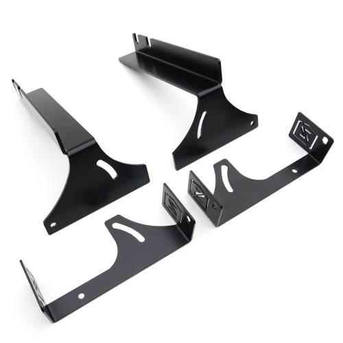 ZROADZ OFF ROAD PRODUCTS - 2007-2013 Silverado, Sierra 1500 Rear Bumper LED Bracket to mount (2) 6 Inch Straight Light Bar - PN # - Image 2