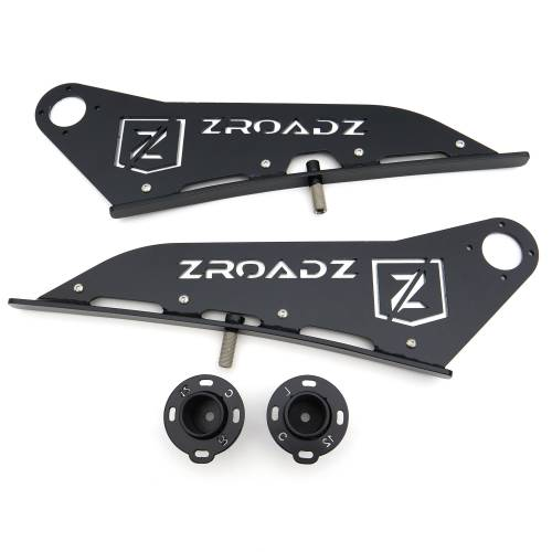 ZROADZ OFF ROAD PRODUCTS - 2007-2021 Toyota Tundra Front Roof LED Bracket to mount 50 Inch Curved LED Light Bar - PN #Z339641 - Image 12