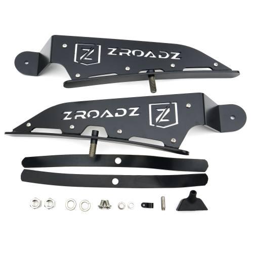 ZROADZ                                             - 2015-2018 Ford Ranger T6 Front Roof LED Bracket to mount (1) 40 Inch Curved LED Light Bar - PN #Z335761 - Image 6