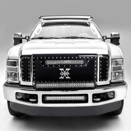 ZROADZ                                             - 2008-2010 Ford Super Duty Hood Hinge LED Bracket to mount (2) 3 Inch LED Pod Lights - PN #Z365631 - Image 2
