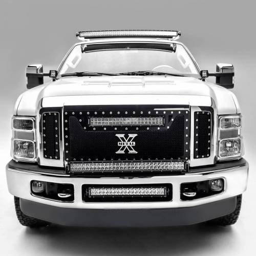 ZROADZ                                             - 2008-2010 Ford Super Duty Hood Hinge LED Kit with (2) 3 Inch LED Pod Lights - PN #Z365631-KIT2 - Image 2