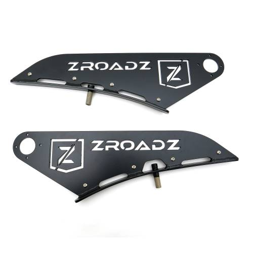 ZROADZ OFF ROAD PRODUCTS - Ram Front Roof LED Kit with (1) 50 Inch LED Curved Double Row Light Bar - PN #Z334521-KIT-C - Image 6