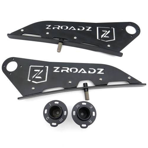 ZROADZ OFF ROAD PRODUCTS - 2005-2021 Toyota Tacoma Front Roof LED Kit with 40 Inch LED Curved Double Row Light Bar - PN #Z339401-KIT-C - Image 7