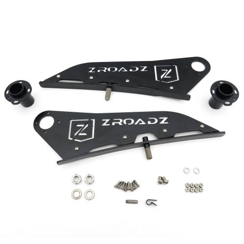 ZROADZ OFF ROAD PRODUCTS - 2005-2021 Toyota Tacoma Front Roof LED Kit with 40 Inch LED Curved Double Row Light Bar - PN #Z339401-KIT-C - Image 9
