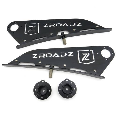 ZROADZ                                             - 2015-2020 Colorado, Canyon Front Roof LED Kit with 40 Inch LED Curved Double Row Light Bar - PN #Z332671-KIT-C - Image 8