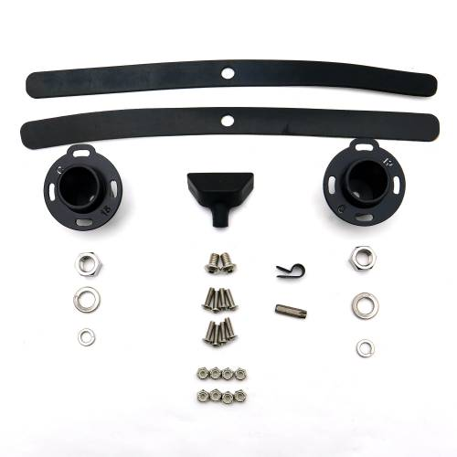 ZROADZ OFF ROAD PRODUCTS - 2015-2021 Ford F-150, Raptor Front Roof LED Kit with 52 Inch LED Curved Double Row Light Bar - PN #Z335662-KIT-C - Image 16