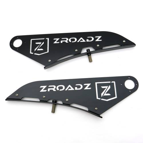 ZROADZ OFF ROAD PRODUCTS - 2015-2021 Ford F-150, Raptor Front Roof LED Kit with 52 Inch LED Curved Double Row Light Bar - PN #Z335662-KIT-C - Image 14