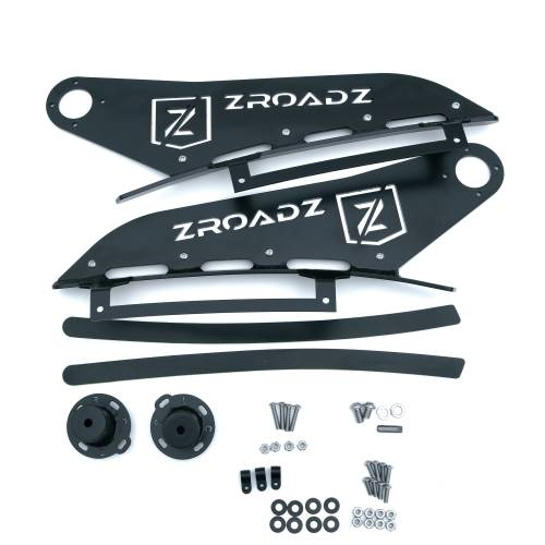 ZROADZ OFF ROAD PRODUCTS - 2007-2013 Silverado, Sierra 1500 Front Roof LED Kit with (1) 50 Inch LED Curved Double Row Light Bar - PN #Z332051-KIT-C - Image 4