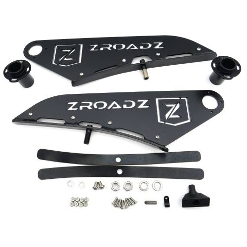 ZROADZ OFF ROAD PRODUCTS - 2015-2021 Ford F-150 Front Roof LED Kit with 50 Inch LED Curved Double Row Light Bar - PN #Z335731-KIT-C - Image 9