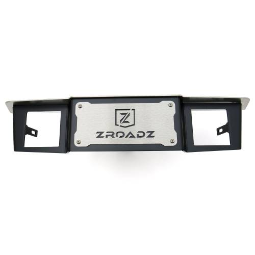 ZROADZ OFF ROAD PRODUCTS - Universal Hitch Step LED Bracket 2 Inch Hitch Receiver, to mount (2) 3 Inch LED Pod Lights - PN #Z390010 - Image 1