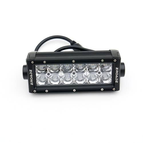 ZROADZ OFF ROAD PRODUCTS - 2016-2021 Toyota Tacoma Rear Bumper LED Kit with (2) 6 Inch LED Straight Double Row Light Bars - PN #Z389401-KIT - Image 13